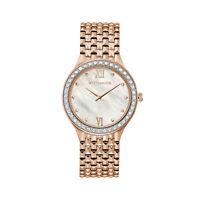 Wittnauer Women's WN4094 Quartz Diamond Accents Rose Gold Tone 36mm Watch