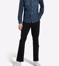Wrangler® Texas Stretch Jeans/Black Overdye - 40/36  X-TALL