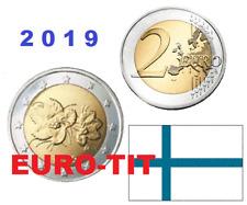 2 EURO     FINLANDE    2019     PIECE   SUPERBE    FINLANDE     2019  disponible