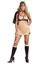 Dreamgirl Women's Viking Vixen Sexy Warrior Goddess Adult Costume Medium 8-10