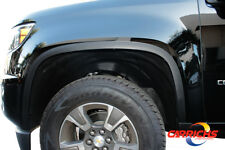 FTCH846 15-19 Chevy Colorado/GMC Canyon Matte Black Stainless Steel Fender Trim