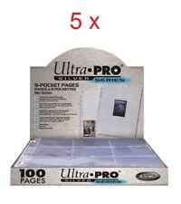 20 feuilles de Rangement Ultra Pro pour 360 cartes Standard Pokémon Magic Etc...