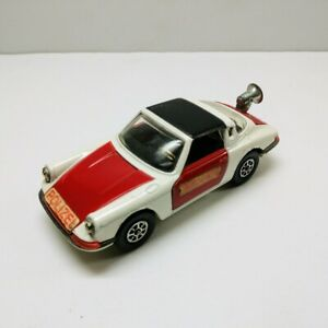 Vtg 1972 CORGI Whizzwheels Porsche Targa 911S Police Polizei #509 1/43 Diecast