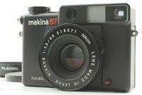 [CLA'd MINT] Plaubel Makina 67 Medium Format Film Camera Nikkor 80mm F2.8 JAPAN