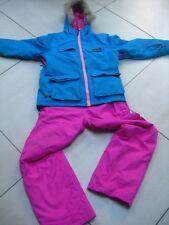 2 piece kids girls mismatch SKI SUIT jacket pants size age 12 13 years NO FEAR