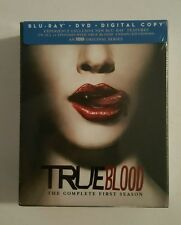 True Blood Season 1 Blu Ray + DVD Combo Brand New Sealed