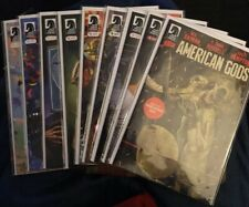 AMERICAN GODS (2017) - Bag/Board - NM+, Full Run! 3 Variants! Gaiman + McKean