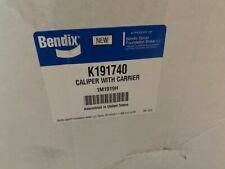 BENDIX K191740 Caliper With Carrier (NEW) - No Core Required