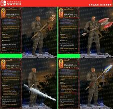 Diablo 3 Nintendo Switch - Bundle - 11x Primal Modded Weapons - Check the Photos