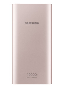 Samsung EB-P1100CPEGUS 10,000 mAh Portable Battery with USB-C Cable, Pink