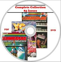 YOUR COMMODORE magazine COMPLETE COLLECTION on DVD all 84 issues! Amiga, C64