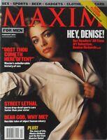 DENISE RICHARDS February 2001 MAXIM Magazine #38 MONICA BELLUCCI