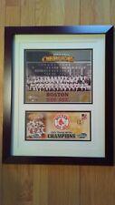 Boston Red Sox 2004 World Series Team Color Photo MLB & USPS Stamp Envelope