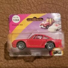 Siku Porsche 959 Red 1068 NEW in Blister
