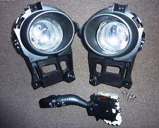 Mazda MX5 MK3 Fog Lights with Stalk, Fixings and Instructions - MKIII NC OEM