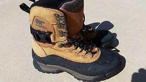 Sorel Men's Paxson Tall Waterproof Boot Buff/Black Size 7