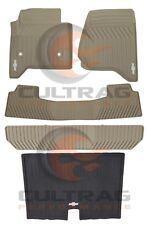 GM # 19166603 Floor Mats Row Premium All Weather Set Gray 2nd 1 Piece Rear Second