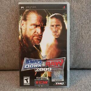 WWE Smackdown Vs Raw 2009 Sony For PSP Very Good