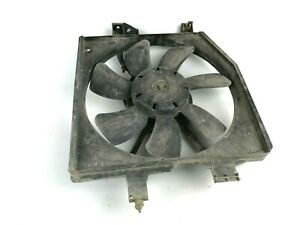 Mazda Premacy Engine Radiator Diffuser Cooling Blower Propeler Fan Motor Unit