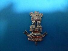 "Indian Army ""Bahir Regiment"" Chrome Plated Original Badge (119)"