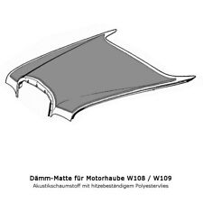 Mercedes Benz W108 W109 S-Klasse Dämmung Motor - Motorhauben-Dämmung  Neu
