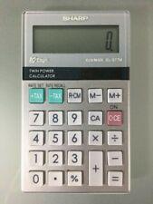 Sharp 10 Digit ElsiMate El-377M Handheld Calculator Battery & Solar