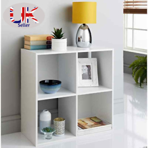 2/3/4/5/6 Tier Cubes Drawers Shelving Storage Unit Bookcase Cabinet Living Room