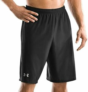 New Under Armour Loose Gear Micro Short Men's Large Black/Silver