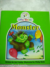 Monster by Joy Cowley Cocky's Circle Little Books 1993 pb A38