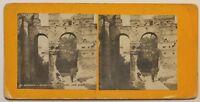 Bordeaux Ruines Del Palais Gallien Francia Foto Stereo P49p1n Vintage Analogica