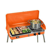 BBQ Gas Grill Liquid Propane Backyard Patio Stainless Steel Barbecue Outdoor New