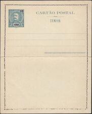 TIMOR, 1905. Letter Card H&G 4, Mint