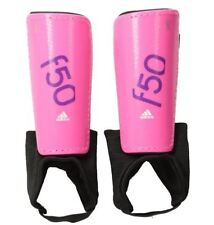 Adidas Soccer Protective Shin Guards Pads Black Pink f50pro f50 pro size S Small
