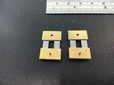 Brass Clock Suspesion Spring Set of 2