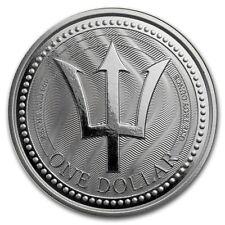 Barbados Trident 2017 1 oz 999 Silber Silbermünze Dreizack Auflage 30.000 Stk.