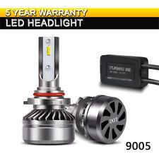 TURBOSII 9005 HB3 High Beam LED Headlight Bulbs 12000LM 6000K White DOT Kit LXK