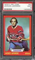 1973-74 O-PEE-CHEE #40 JACQUES LAPERRIERE PSA 9 CANADIENS HOF  *CG3266