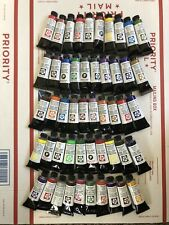"Daniel Smith Extra Fine Watercolors Lot Of ""50"" 15ml Tubes 🎨"