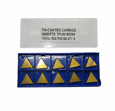 RDGTOOLS TPUN 16 CARBIDE TIPS / INSERTS / FACEMILL TURNING TOOLS