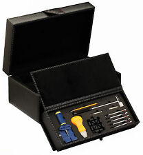 Diplomat Carbon Fiber Watch Case Box for 10 Watches with Repair Tool Kit