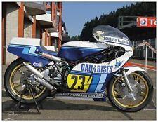 post card Yamaha TZ500 1980 Bikers' Classics Spa 2013 #23 Patrick Pons