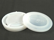 GENUINE MINOLTA Body Cap & Rear Lens Cap - For Dynax / Sony Alpha
