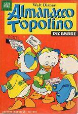 ALBI D'ORO: Almanacco Topolino N°12 del 1968 con cartolina abbonamento