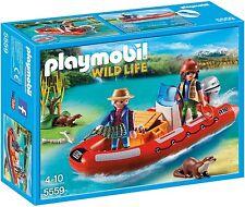PLAYMOBIL GOMMONE CON GLI ESPLORATORI 5559-galleggia sull'acqua