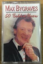 "Max Bygraves ""50 Golden Years"" NEW & SEALED Tape Cassette"