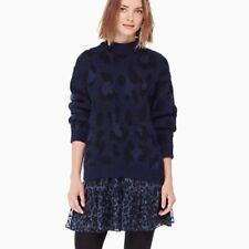 Kate Spade leopard-print sweater size Large