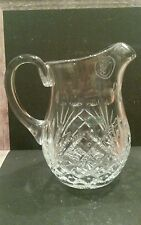 Vintage Galway Pro Am Ireland Lead Crystal Pitcher