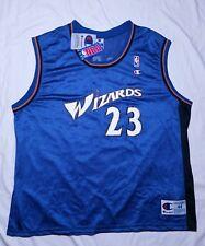 Vtg NWT Michael Jordan Champion Jersey Wizards New Size 44 Large Replica