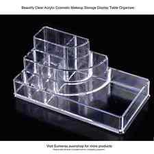 Acrílico Transparente 8 tabla de almacenamiento de visualización de sección de cosméticos de Maquillaje Regalo Organizador Gr8
