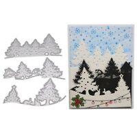 Forest Cutting Dies Stencil DIY Scrapbooking Album Paper Card Embossing Craft